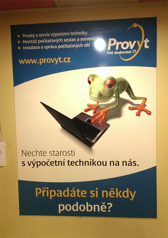 Reklama - Provyt